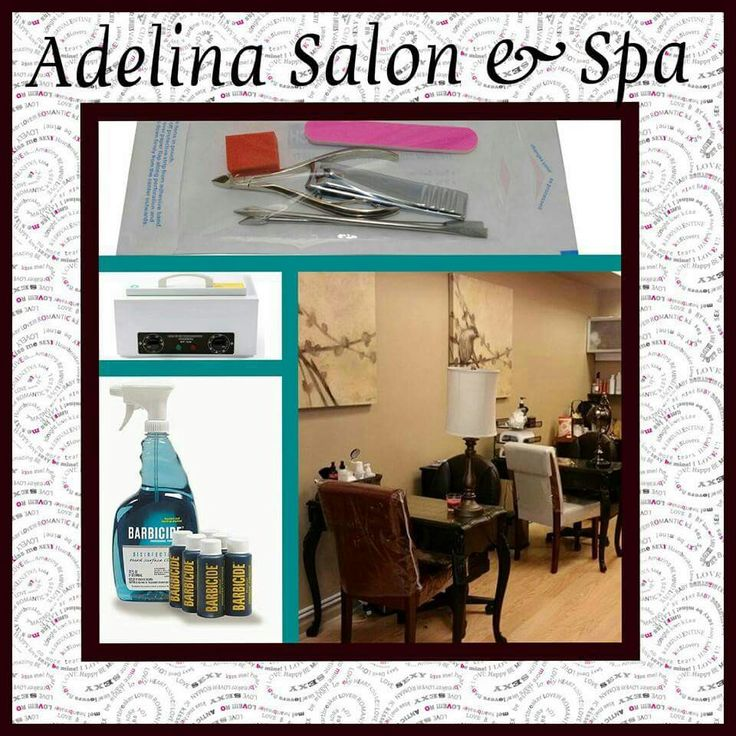 Keeping clean. | Adelina Salon & Spa | Pinterest | Keep it cleaner, Spa and Salons