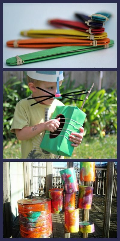 20+ ideas for making music with kids including DIY instruments, water play, a backyard band and more!