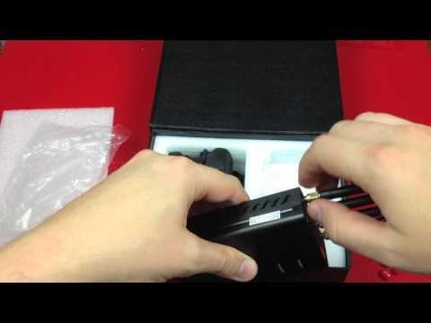 Wolves fleet GSM Wifi Jammer UNboxing UnpackingFINAL2