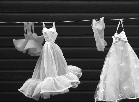 Michelle Brusegaard's photo of barbie dresses. Love it!