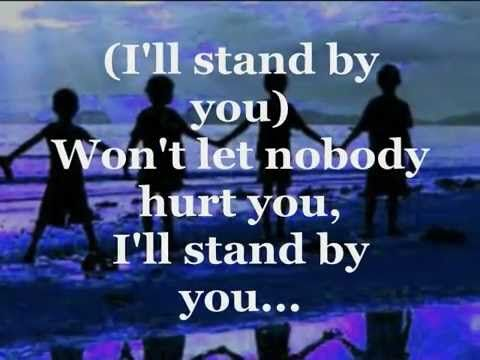 """♥ I'LL STAND BY YOU ♥ ( With Lyrics) ~ * The PRETENDERS *  ~ *** IF You ONLY LISTEN to ONE Song, I HOPE IT is THIS SONG or  to """"IT GET'S BETTER"""" or  """"CRASH AND BURN"""" or """"AFFIRMATION""""  By  Savage Garden"""