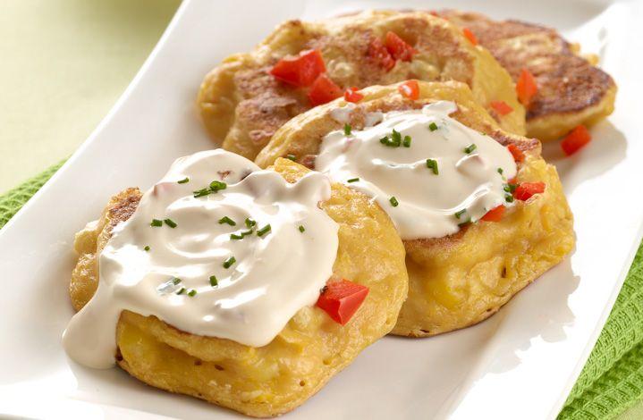 ¿Qué te parecen estas deliciosas torticas de maíz y crema con el rico sabor de CREMA DE LECHE ®?  #Crema de Leche #NESTLÉ