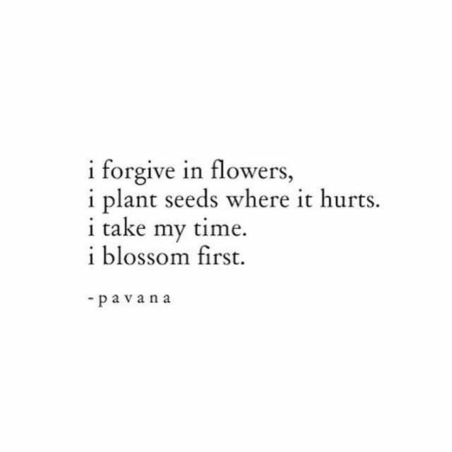 #pavana forgive in flowers