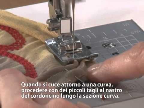 Brother Accessori Piedino per cordoncino - YouTube