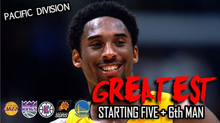 WATCH: NBA Pacific Division Greatest Starting Five + 6th Man