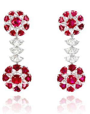 H & D Diamonds is your direct contact to diamond trade suppliers, a Bond Street jeweller and a team of designers.www.handddiamonds... Tel: 0845 600 5557 - Chopard earrings