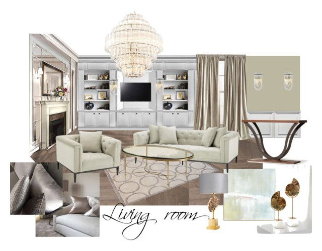 living ZR-2 by naala-art on Polyvore featuring polyvore, interior, interiors, interior design, home, home decor, interior decorating, DKNY, John-Richard and The Rug Company