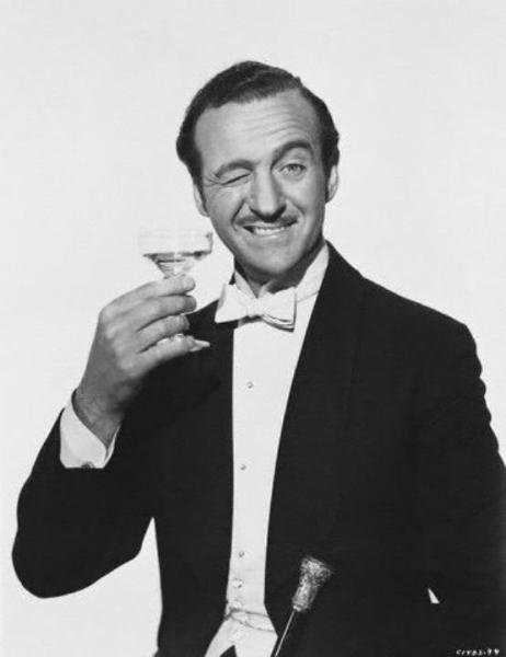 David Niven, absolutely invited to my afterlife cocktail party!