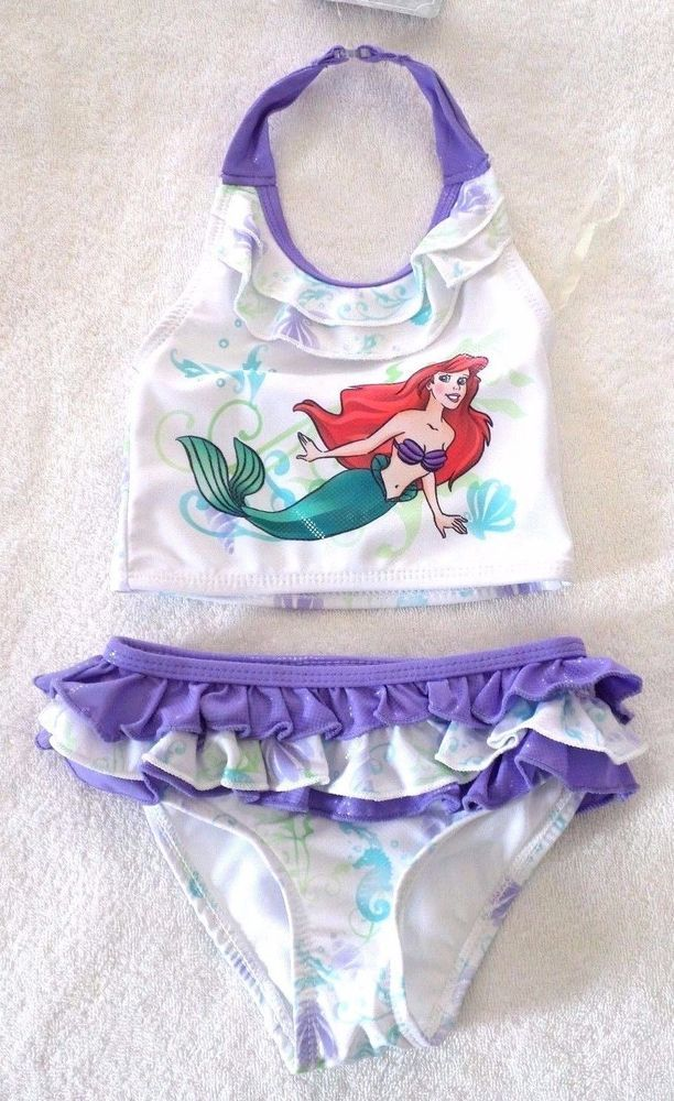 GIRLS DISNEY STORE SIZES 2/3 ARIEL THE LITTLE MERMAID TWO-PIECE SWIMSUIT NWT | Clothing, Shoes & Accessories, Baby & Toddler Clothing, Girls' Clothing (Newborn-5T) | eBay!