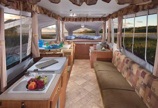Rv Camping interiors - love the