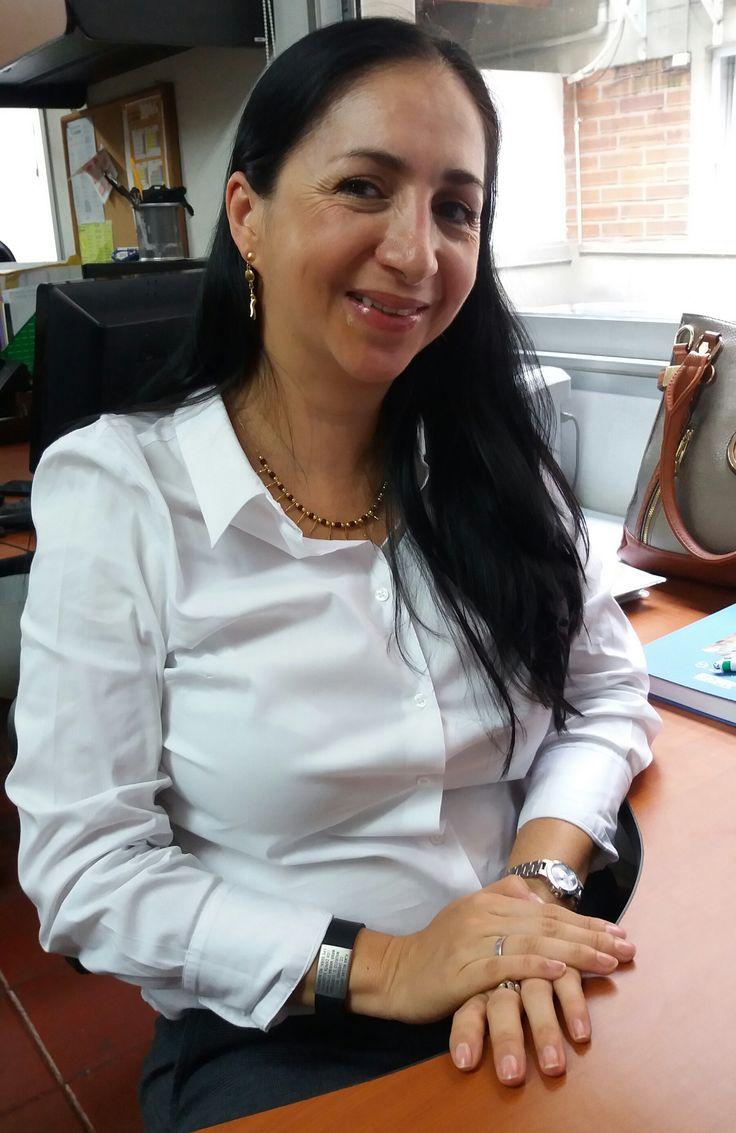 #momentosescolme Nuestra docente investigadora Alma Milena está de vuelta en ESCOLME ¡BIENVENIDA!