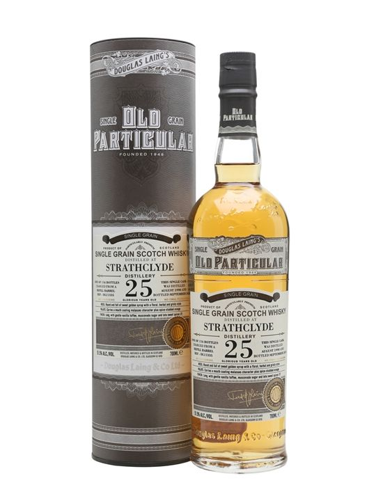 Review #521    From Douglas Laing comes this single grain whisky from a refill barrel with the cask number DL11335. Only 116 bottles were ...