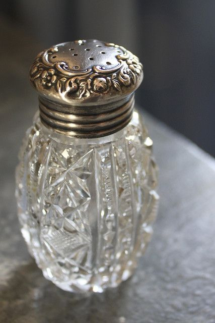 Vintage salt shaker by Romantic Home, via Flickr