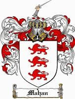 Mahan Coat of Arms / Mahan Family Crest