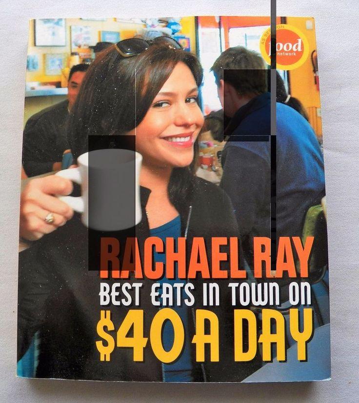$2.00 - Rachael Ray Best Eats $40.00 a Day 2004 PB (42017-449 BO) cookbooks