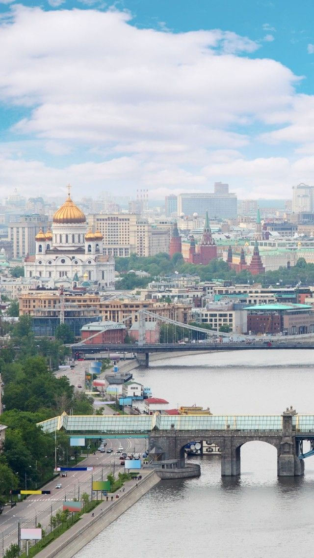 Moscow Russia iPhone 5 wallpapers, backgrounds, 640 x 1136