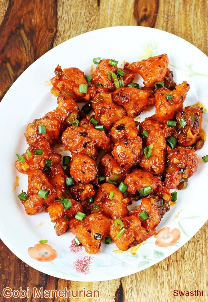 Gobi manchurian recipe with video and step by step photos. One of the most popular manchurian recipe from Indo chinese cuisine. Cauliflower known as gobi in Indian language is deep fried and tossed in sweet, sour and hot manchurian sauce. This delicious crisp fried appetizer makes its appearance everywhere in street stalls, restaurants and even …