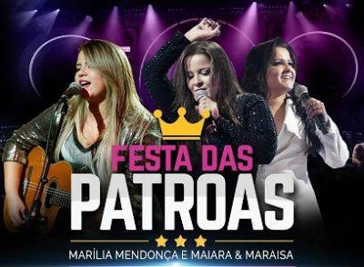 BAIXAR FESTA DAS PATROAS - MARILIA MENDONÇA - MAIARA E MARAISA - SIMONE E SIMARIA - CD COMPLETO
