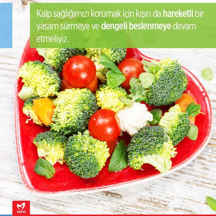 Kışın kalp sağlığımızı korumak için...   #saygihastanesi #kalpsagligi #beslenme #saglikipuclari