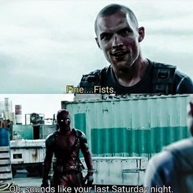 Deadpool vs Francis