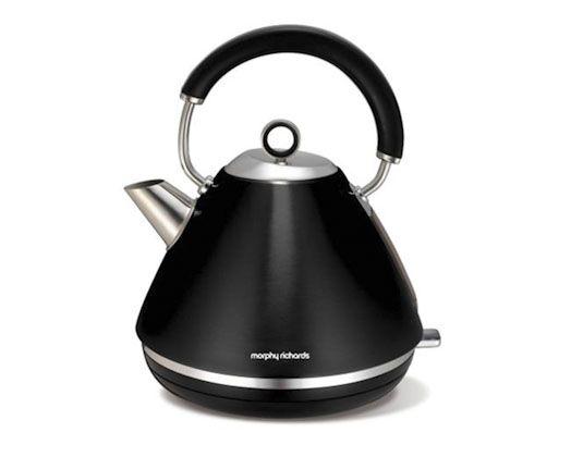 1.5L 360 Metallic Black Accents Cordless Kettle #MyDreamKitchen #CreativeHouseWares
