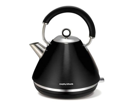 1.5L 360 Metallic Black Accents Cordless Kettle #MyDreamKitchen #CreativeHouseWares