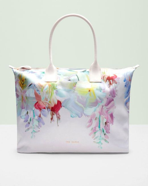 Hanging Gardens large tote bag - Baby Pink | Bags | Ted Baker ROW