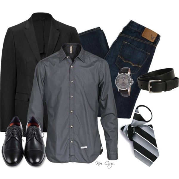 Business Casual, created by keri-cruz on Polyvore