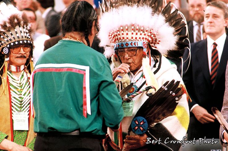 Siksika Elder, the late Jim Many Bears, hitch hiked to Ottawa for the talks