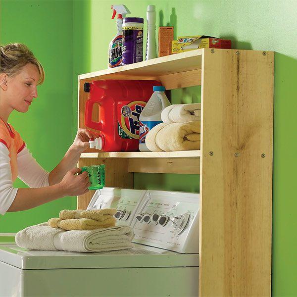 Las 25 mejores ideas sobre estante de lavadora secadora en pinterest y m s encimera de - Lavadero easy ...