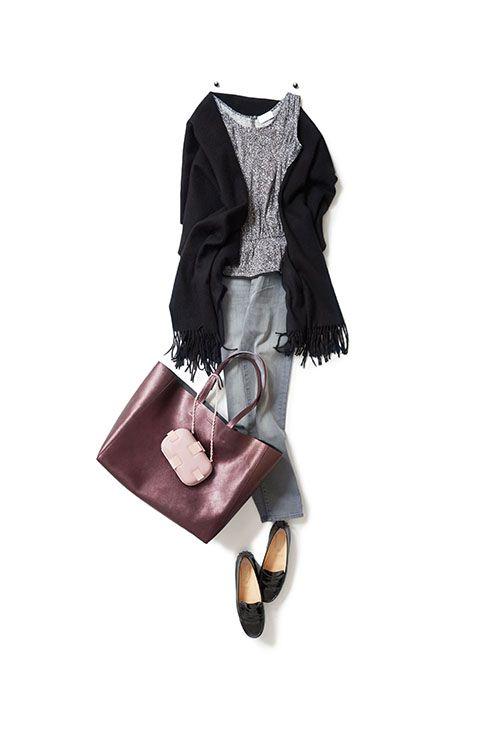 仕事終わりにディナーがある日のスタイル 2015-09-08 | jeans color :BRANDON price :30,240 brand : KORAL/YAMATWO | bags tote price :62,640 brand : ORCIANI clutch price :160,920 brand : CORTO MOLTEDO/STRASBURGO