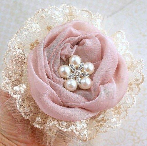 Lace & Chiffon Rose ♡