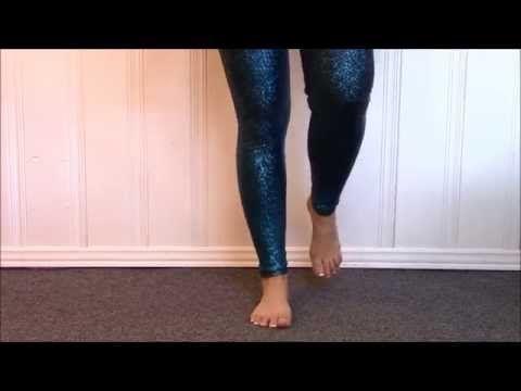 Exercice de renforcement de la cheville - YouTube