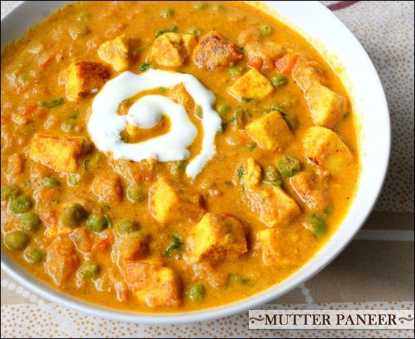 Paneer Mutter Masala. Had this at an Indian place with my bff in Orlando. SO GOOD.