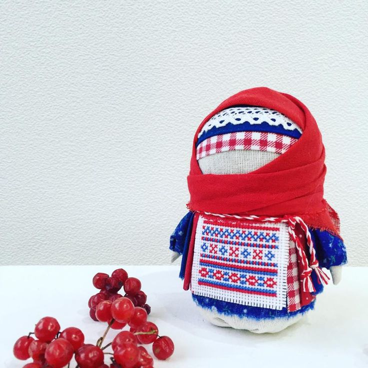 "Russian traditional doll ""Krupenichka"" by @jeniansk"
