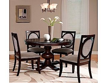The Anthernon Dining Room Group By RiversEdge Is Crafted In Hardwood Solids And Birch Veneers With