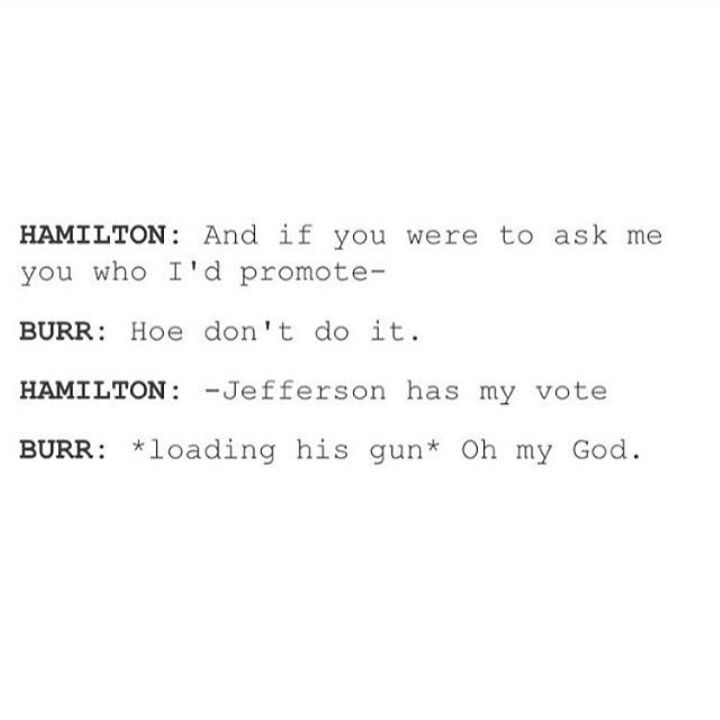 #hamilton #aaronburr #tumblr