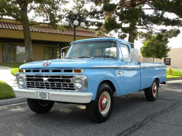 Old Ford Pickup | Work in Style: 1966 Ford F250 Longbed