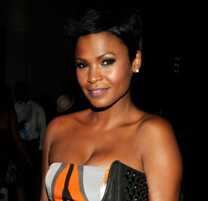 SPOTTED: A PREGNANT NIA LONG, SON, AND MOM IN TRINIDAD