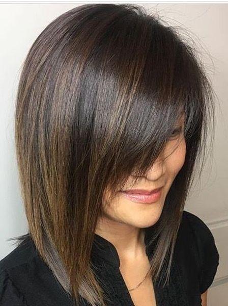 Exklusive kurze, kantige Haarschnitte mit einem langen Pony, mit dem Sie … – Kochen – # ein #exklusiver # Haarschnitt #viereckig