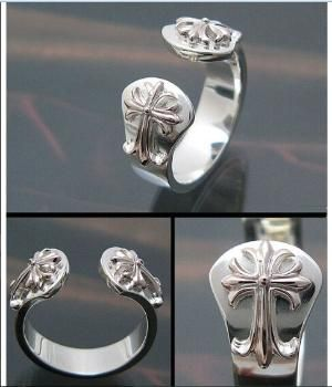 Cheap Chrome Hearts 925 Silver Rings with Two Sacred Crosses Online [Cheap Chrome Hearts 925 Silver Rings with Two Sacred Crosses Online] - $189.00 : Cheap Chrome Hearts, Chrome Hearts Online Shop, Chrome Hearts by gwen.tim