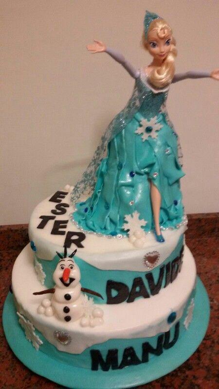 Torta frozen.....☺