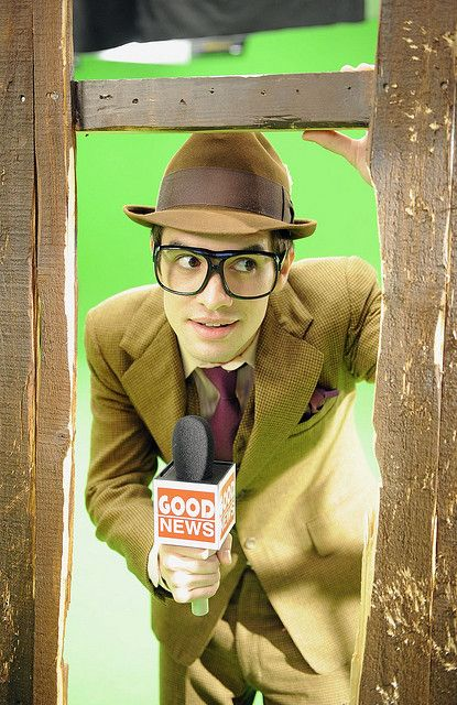 I would watch the news more often if it was hosted by brendon