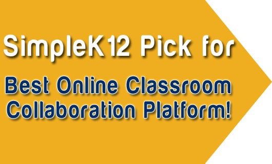 SimpleK12 Pick for Best Online Classroom Collaboration Platform