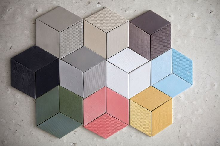 TEX Tiles by Raw Edges for Mutina, Italy. Photograph courtesy Mutina.