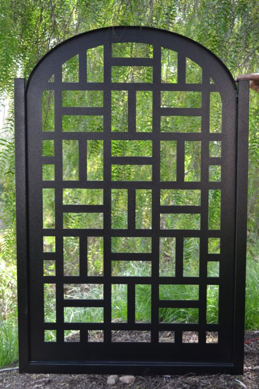 79 best Gates images on Pinterest Metal gates Doors and Garden gate