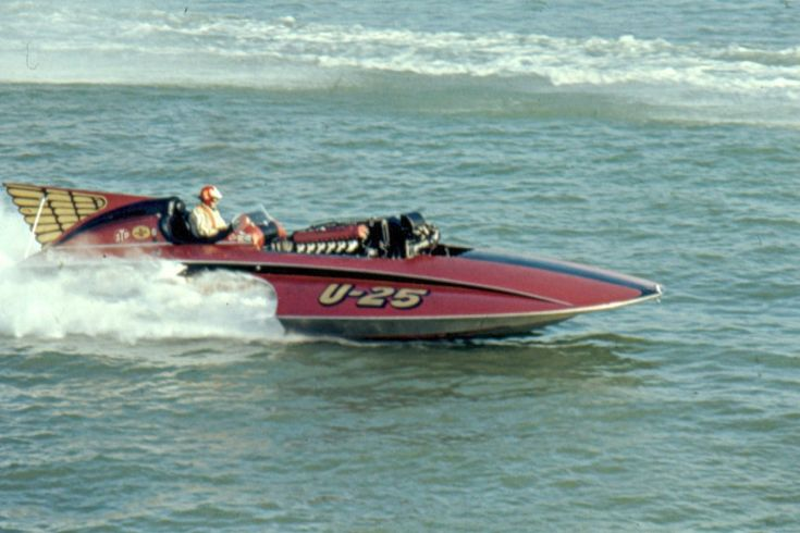 U-25 U25 Miss Eagle Electric classic unlimited class hydroplane hydroplanes hydro hydros racing boat boats