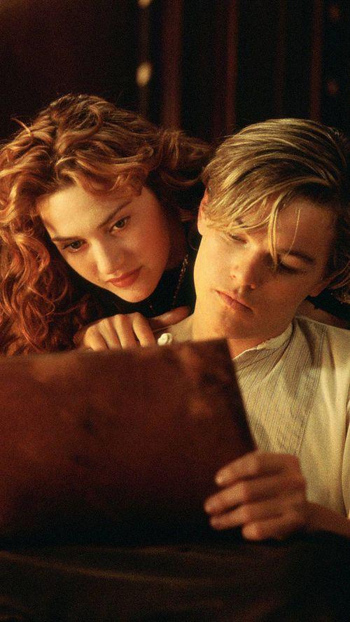 #movie #rose #leonardo #dicaprio #beautiful #kate #love #titanic #lockscreen #winslet #wallpaper  https://weheartit.com/entry/299533470