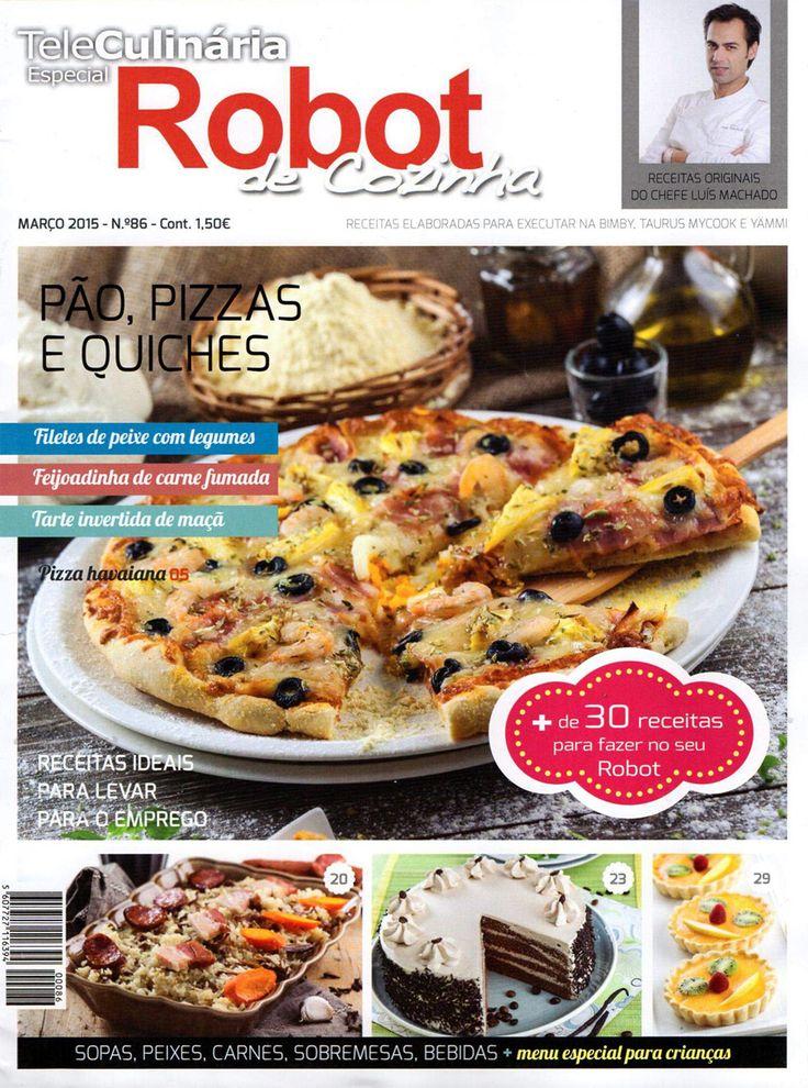 TeleCulinária Robot de Cozinha Nº 86 – Março 2015