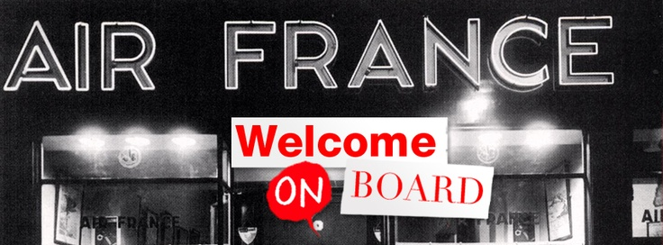 Air France - Welcome on board